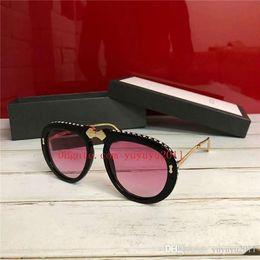 67a863ef52 2019 new top quality womens designer sunglasses luxury brand GCCCC designer  sunglasses sunglass eyewear for women with box GG0307 JJWM