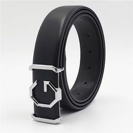 $enCountryForm.capitalKeyWord Australia - Designer Belts Men Women High Quality Trending Luxury Smooth Buckle Genuine Leather Waist Belt Casual Jeans Girdle