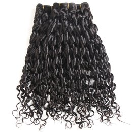 $enCountryForm.capitalKeyWord UK - High Quality Indian Human Hair 3 Bundles Natural Color Aunty and Sexy Funmi Double Drawn Funmi Hair 8-22inch Double Drawn Hair weft