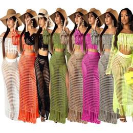$enCountryForm.capitalKeyWord Australia - Womens designer two-piece dress sexy beachwear how cut fashion playsuits comfortable strapless dress cover-up women clothing hot selling 897