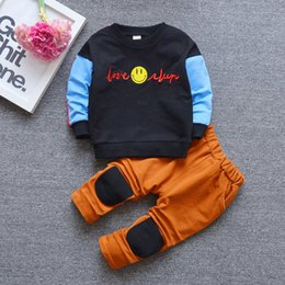 $enCountryForm.capitalKeyWord Australia - Kids Sets 1-3T Kids T-shirt and Short Pants 2 Pcs sets 2 Colors Children Sports Sets Baby Boys Girls 95% Cotton Sets hf51904