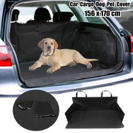 car boot liners UK - 1pcs Waterproof Pet Dog Car Boot Seat Cover SUV Trunk Protector Cushion Liner Mat Oxford