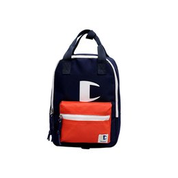 High Quality Backpack Brands UK - Brand of two shoulder bag fashion street fashion casual backpack high quality college wind student bag luxury couple bag travelpackage