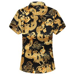 Wholesale china plus size clothing online – Plus Size XL XL XL New Summer Mens Short Sleeve Hawaiian Fashion Casual Floral Shirts China Style Brand Clothing MX200518