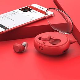 $enCountryForm.capitalKeyWord Australia - Bluetooth Headset 5.0 In-Ear Sport earphone Waterproof sweatproof Pretty cute Cell Phone Earphone wireless mixed color