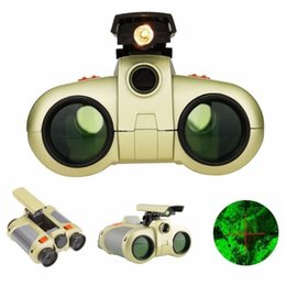$enCountryForm.capitalKeyWord NZ - 4x30 children Binoculars Night Vision Telescope Pop-up Light Night Vision Scope Binoculars Novelty for over 3 years old Kid Boy Toys Gifts