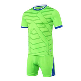 795895c6dff Hot Wholesale Customize Cheap Football Clothing Sets Short Sleeve Pluse  Size Training Team Soccer Jersey Set