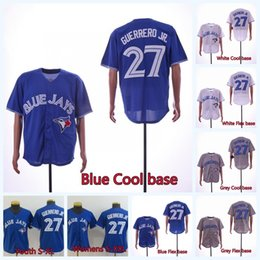 Wholesale Mens Womens Youth Vladimir Guerrero Jr Justin Smoak Jays Baseball Jersey Toronto Blue Jersey Double Stitched Name and Number IN STOCK