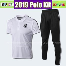 $enCountryForm.capitalKeyWord NZ - Top quality polo shirt 2019 Real Madrid Soccer Jerseys tracksuit pants 18 19 SERGIO RAMOS BENZEMA MODRIC ISCO BALE soccer polo Shirts