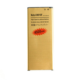 Chinese  2019 new 1x 4500mAh EB-BN910BBE Gold Replacement Battery For Samsung Galaxy Note 4 IV N910F N910H N910S N910T N910V N910A N910C N910G manufacturers