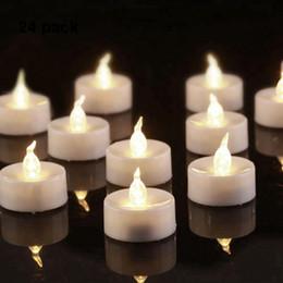 $enCountryForm.capitalKeyWord Australia - Homemory Flickering LED Tea Lights Warm White, Battery Tea Lights Candles for Home, Wedding, Party & Festival Decoration