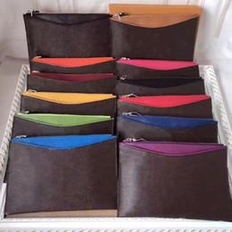 $enCountryForm.capitalKeyWord Australia - brand designer wristlets wallets cluth bag shoulder crossbody bags coin purses clutch bags zipper pu for women