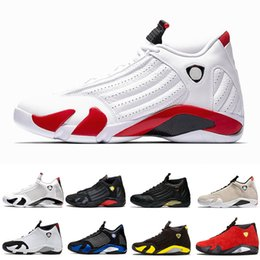 $enCountryForm.capitalKeyWord Australia - 2019 Reverse Ferrar Candy Cane 14 14s mens Basketball Shoes Desert Sand DMP Last Shot Indiglo Thunder Blue Suede mens Sports Sneakers 40-46