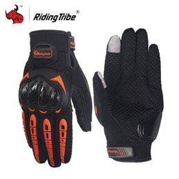 $enCountryForm.capitalKeyWord Australia - Protective Gears Riding Tribe Motorcycle moto racing Guantes Moto Gants Luvas Touch Screen Motocross Gloves Black orange green