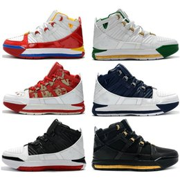 home bowls 2019 - 2019 New #23 Zoom III 3 Home SuperBron Men's Basketball Shoes Best Quality 3s Chaussures Sports Sneakers EUR 40-46