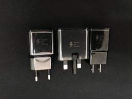 samsung wall charger original 2019 - Original Quick adaptive 100% fast 9V-1.67A or 5V-2A Adaptive Fast Charger EU US Wall Charger adapter for Samsung S6 s7 S