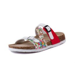 $enCountryForm.capitalKeyWord Australia - Fashion Women Slippers Flip Flops Summer Beach Cork Shoes Slides Girls Flats Sandals Casual Shoes Mixed Colors Plus Size 35-43