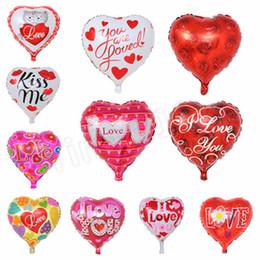 $enCountryForm.capitalKeyWord NZ - 18-inch mixed heart-shaped balloon wedding balloons I love you holiday party balloons decorative aluminum film balloon T2I5002