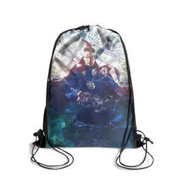 Cartoon Strange Australia - Drawstring Sports Backpack Doctor Strange alternative movie posterfashion convenient sack pouch Travel Fabric Backpack
