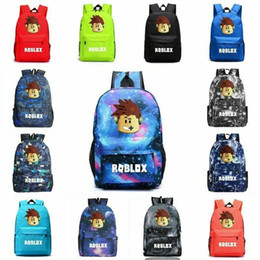 $enCountryForm.capitalKeyWord NZ - Roblox Rucksack Kids Boy Girl Oxford Backpack Students School Bag Bookbag Handbag Travel Laptop bags Outdoor Sports Shoulderbag Satchel