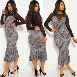 $enCountryForm.capitalKeyWord Australia - Europe and the United States 2019 autumn new mesh stitching tuxedo women dress explosion spot 858