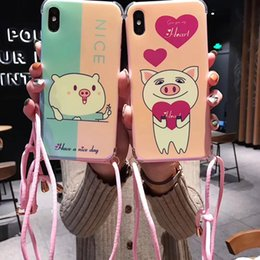 huawei new phones 2019 - New Fashion Cartoon Pig Love Phone Cases For Huawei P20 Cover Soft TPU Blue Ray Cover Case for For Huawei P20 Lite Cases