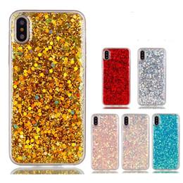 Конфеты блестящие блестки чехлы для iPhone X XR XS MAX 8 7 6 6 S Plus Case Мягкий силиконовый блеск задняя крышка для iPhone 5S SE