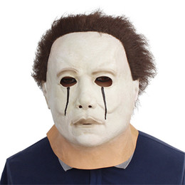 $enCountryForm.capitalKeyWord NZ - Movie Halloween Horror Michael Myers Mask Adult Cosplay Costumes Latex Full Face Helmet Carnival Masquerade Party Scary Props