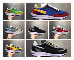 Camp Shoes For Men Australia - Wholesale New UNDERCOVER x Sacai LDV Waffle Blue Green Athletic Shoes For Men Women Fashion Sneaker Black White Camping Hiking Casual Shoes
