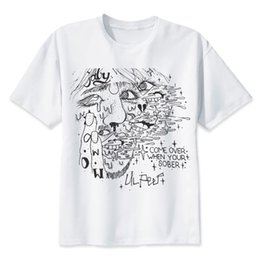 b46daf06 Lil Peep T Shirts Rapper Tshirt Crew Fashion Cool Tees Best Hip Hop Gift  For Friends Comfortable Hiphop Tee Shirt