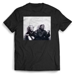 marilyn monroe t shirts wholesale 2019 - Marilyn Monroe Tupac Shakur Men's   Women's T Shirt cheap marilyn monroe t shirts wholesale
