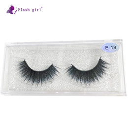 colorful eyelashes NZ - E-19 High Quality The Newest 19 Styles 1 pairs colorful natural 3D Mink Eyelash vendor Wholesale Colorful Eyelashes Private Label