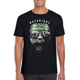 Tops & Tees Mma Conor Mcgregor Rocky Balboa T-shirt Boxer T-shirt Irish Paint Conor T-shirt