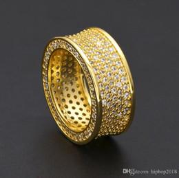 $enCountryForm.capitalKeyWord Australia - UHotstore Mens Hip Hop Gold Rings Jewelry New Fashion Gemstone Simulation Diamond Iced Out Rings For Men