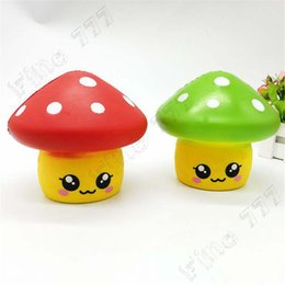 $enCountryForm.capitalKeyWord Australia - Kawaii Cartoon Mushroom Squishies Slow Rising Fruit Scented Stress Reliever Toys Puzzle plaything Stress Reliever Toys