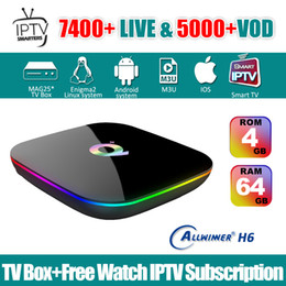google iptv box Australia - IPTV Android app Subscription Iptv Italy UK German French Spanish Mediaset Premium with Android Box Q-plus 4G 64G