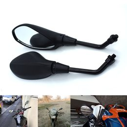 $enCountryForm.capitalKeyWord NZ - For Universal 10mm Motorcycle Rearview Mirror Left&Right Rear View Mirrors Housing Side Mirror For Suzuki GSXR1000 GSR750 TL1000S