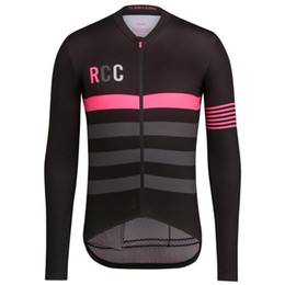 team uniforms clothes Canada - RCC 2019 New Men Long Sleeve Cycling Jersey Clothing Bicycle Pro Team Outdoor Mountain Road Uniform Bike Wear Shirt Clothes