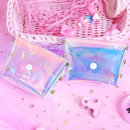 $enCountryForm.capitalKeyWord UK - eTya Transparent Coin Purse Women Small Wallet Female Change Purses Mini Children's Pocket Wallets Key Card Holder PVC Hand bags L