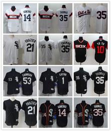 a327c1d8 konerko jersey 2019 - Men's Chicago White Sox Jersey #1 Adam Eaton 35 Frank  Thomas