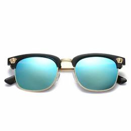 Product Brand Color Australia - Home> Fashion Accessories> Sunglasses> Product detail Round sunglasses men women Brand Designer plank frame Metal hinge fashion Retro sun