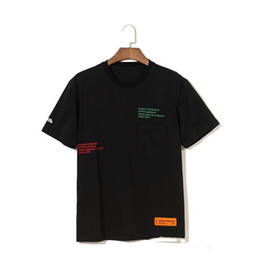 T Shirts Men Full Print Australia - 19ss New Heron Preston Embroidery Letter Full Printed Short Sleeve T-Shirts for Men and Women in Loose Street Style