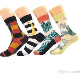 Sock Packs Australia - Women Funny Colorful Combed Cotton Socks Red Argyle Dozen Pack Casual Happy Socks Dress Wedding Socks