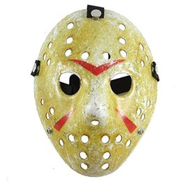 Pvc Costumes Women UK - Friday the 13th Jason Voorhees Hocke Michael Myers Masks Cosplay costume Mask Halloween Party Cool Mask festival masquerade mask