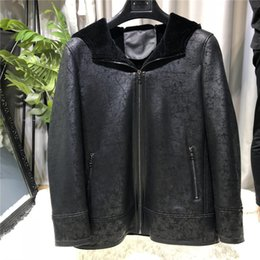 $enCountryForm.capitalKeyWord NZ - Cool 2019 Tank With One Loose Coat Male Make An Inventory Of Stock In The Storehouse Special Even Hat Leather And Fur Overcoat Men's Wear