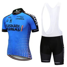 UCI team 2019 euskadI cycling jersey 9D Bike shorts set MTB mens summer  ropa ciclismo cycling wear pro BICYCLE Maillot Culotte 04f7af6ec