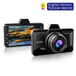 mini sensor camera recorded UK - Mini Full HD1080P Dash Cam 3 inch 2.5D IPS Screen Car DVR Recorder Camera Car Video Recorder Dashcam M01 Dash Camera