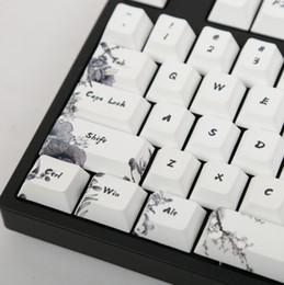 $enCountryForm.capitalKeyWord Australia - Ink keycap keycaps 5-Surfaces Dye sub Profile 104 Key ANIS Layout Augment For Standard Mechanical Keyboard Newly Arrival