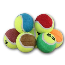 Pet Puzzle Toys NZ - XU0318 2019 Pet Tennis Dog Cat Training Bite Ball Interactive Puzzle Dog Toy Dog Bite A Generation of Hot Sale Free Shipping