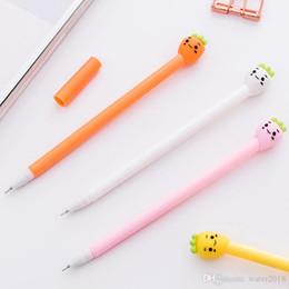 $enCountryForm.capitalKeyWord Australia - 0.5mm Creative Radish Gel Pen Cute Small Fresh Pie Office Supplies Korean Stationery Student 0481